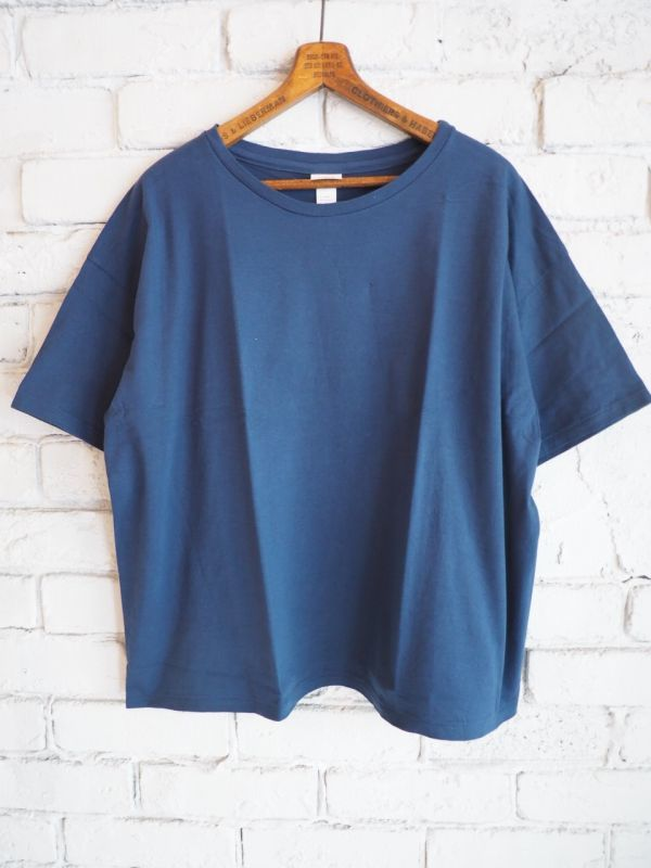 画像1: YAECA 【WOMEN'S】 (88020) 丸胴リラックスTシャツ (1)
