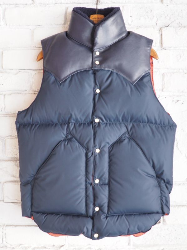 画像1: Rocky Mountain Featherbed 別注CHRISTY VEST (1)