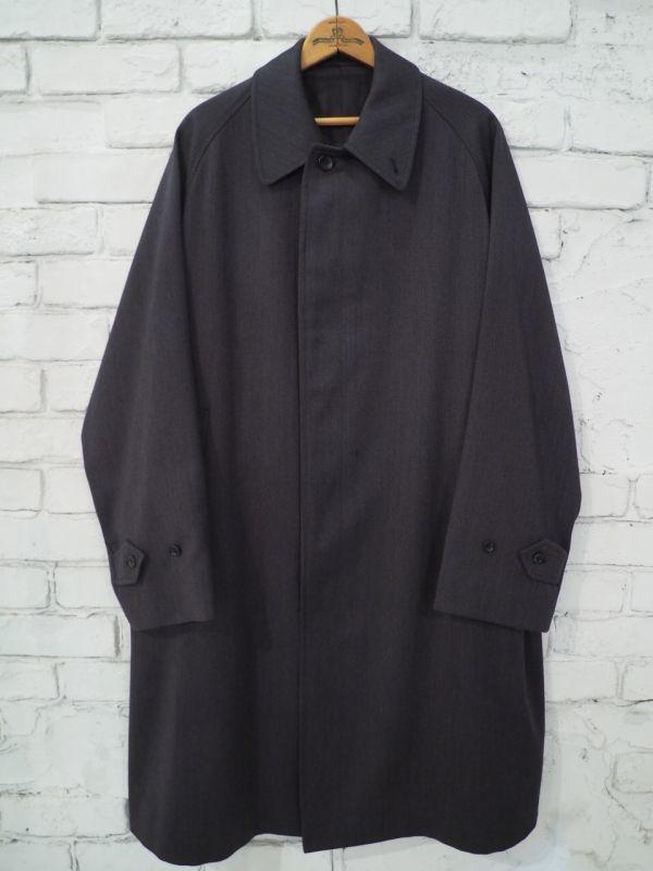 画像1: ANATOMICA SINGLE RAGLAN VI COVERT CLOTH (シングルラグランコート) (1)