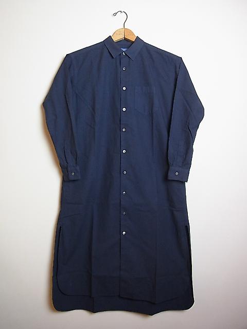 画像1: ●SEA SALT  ロングシャツドレス (1)
