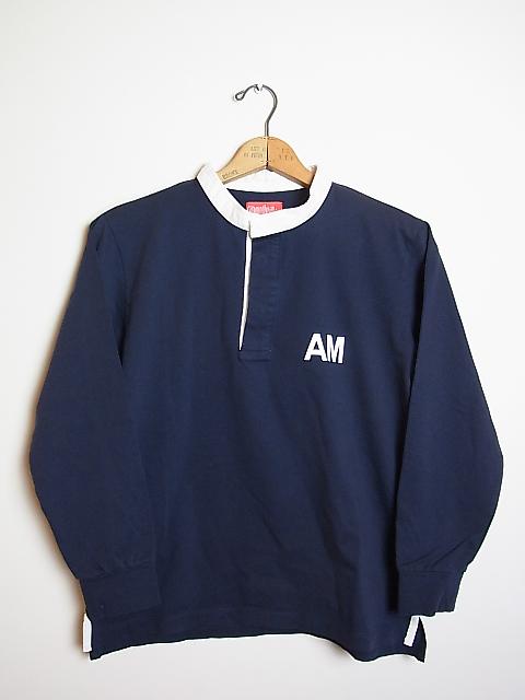 """画像1: ●grown in the sun ラガーシャツ""""AM"""" (1)"""