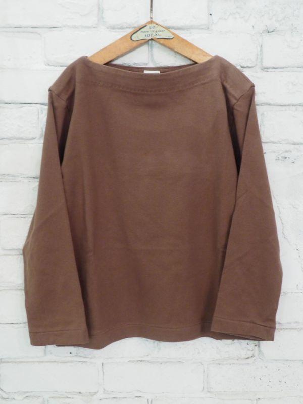 画像1: YAECA 【WOMEN'S】 (88061) バスクシャツ ロング (1)