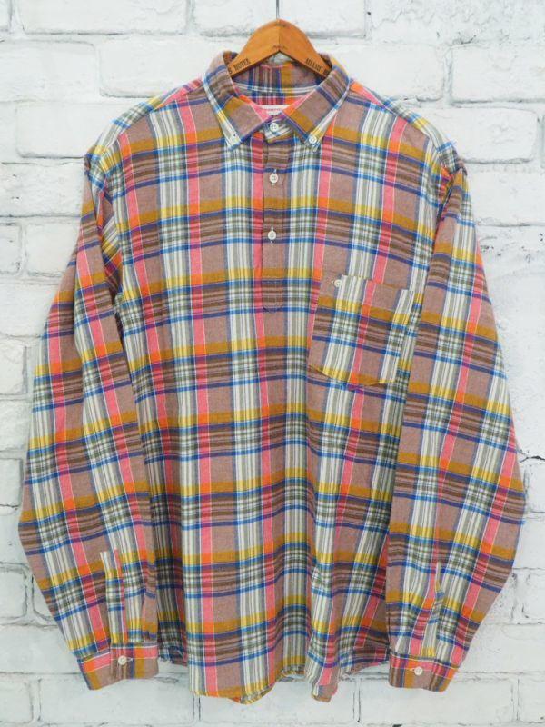 画像1: ●SUNSHINE+CLOUD カンクリーニ スリップオンシャツ (1)