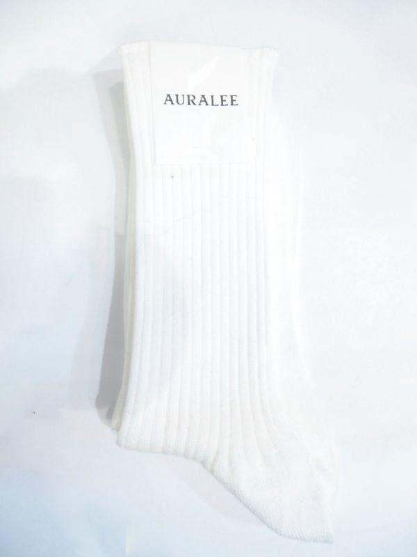 画像1: AURALEE (レディース) リブソックス (1)