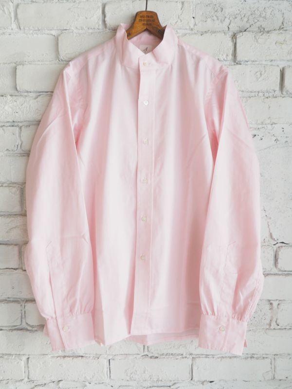 画像1: ANATOMICA BAND COLLAR SHIRTS (バンドカラーシャツ) (1)
