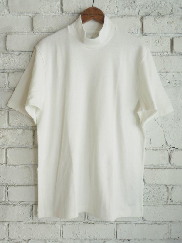 画像1: ANATOMICA MOCK NECK TEE S/S (モック ネック ティーシャツ S/S ) (1)