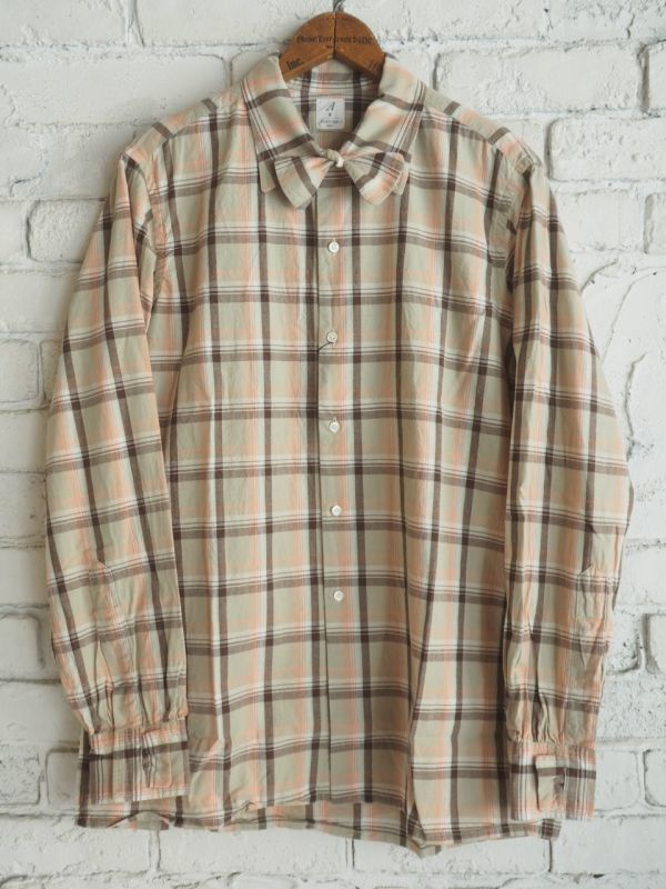 画像1: ANATOMICA WEEKEND SHIRTS (ウィークエンドシャツ) (1)