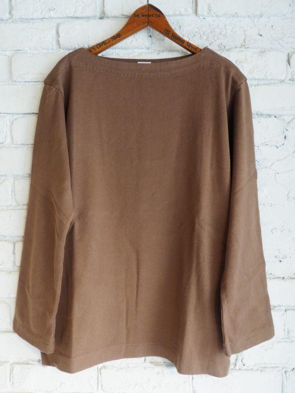 画像1: YAECA STOCK バスクシャツ ロング (1)