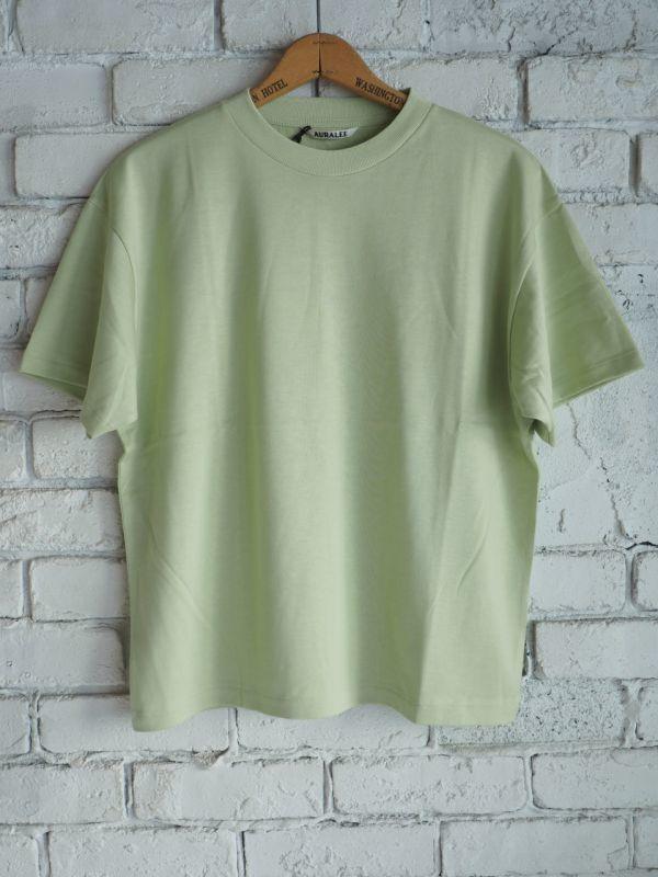 画像1: AURALEE (レディース)ラスタープレーティングTシャツ (1)
