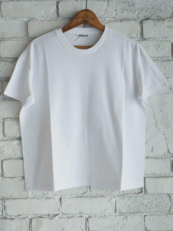 画像1: AURALEE (レディース)シームレスクルーネックビッグTシャツ (1)