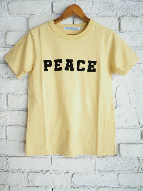画像1: R&D.M.Co- / OLDMAN'S TAILOR PEACE Tシャツ (1)