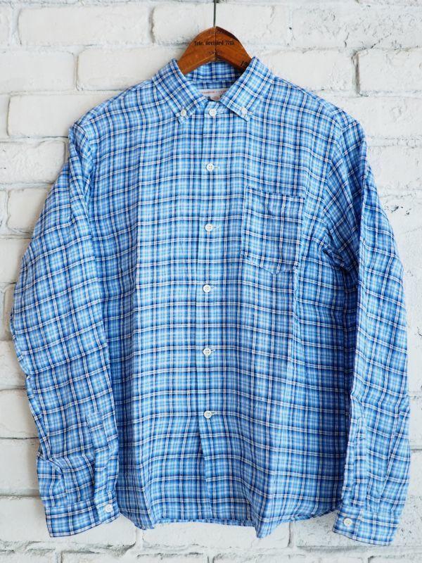 画像1: ●SUNSHINE+CLOUD カンクリーニ リネン ニューウエストシャツ (1)