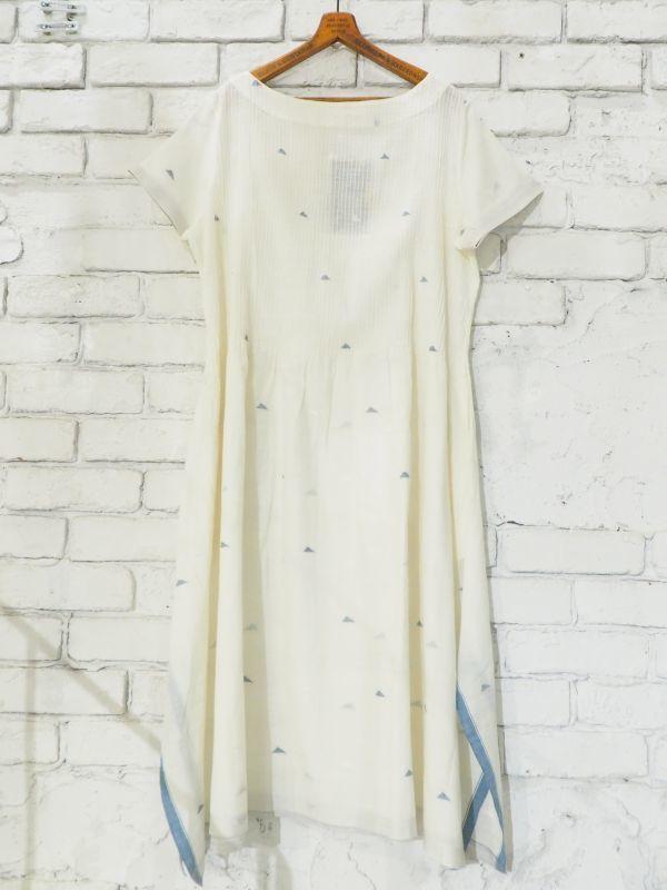画像1: maku textiles ピンタックジャムダニドレス DO26 (1)