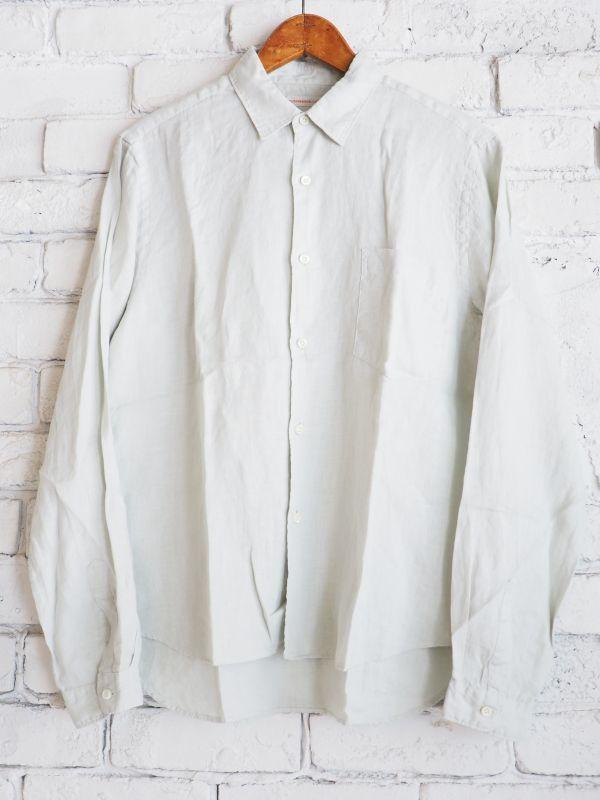 画像1: ●SUNSHINE+CLOUD アーバンオンリネンシャツ (1)