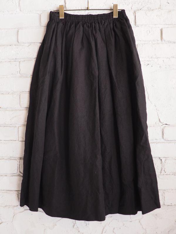 画像1: Veritecoeur 【WOMEN'S】 ST-029 シャーリングスカート (1)