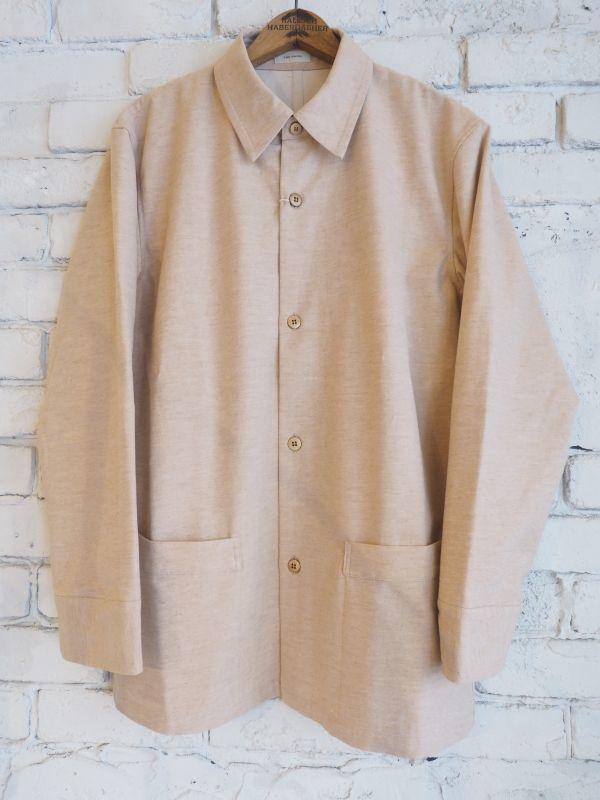 画像1: THE HINOKI オーガニックワイルドコットンドリル シャツジャケット (1)