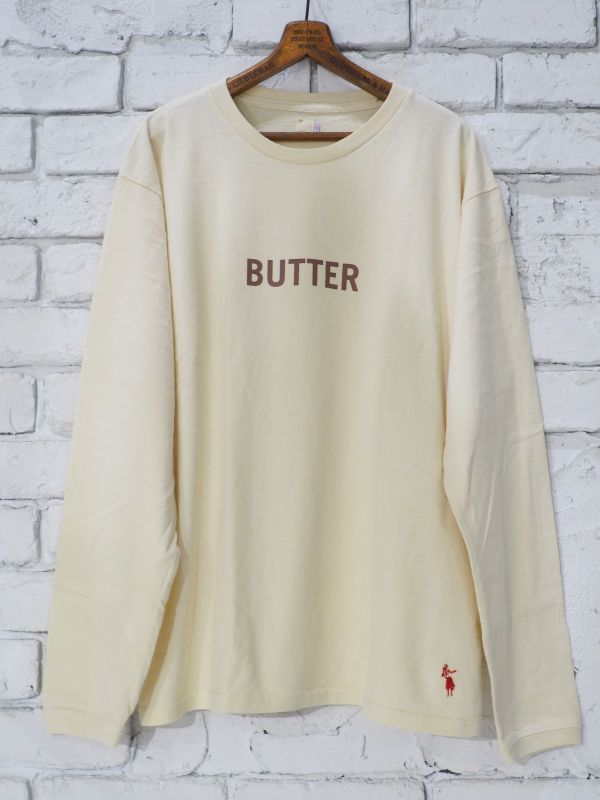 "画像1: grown in the sun  L/S Tシャツ ""BUTTER"" (1)"