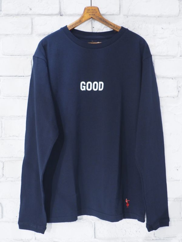 "画像1: grown in the sun  L/S Tシャツ ""GOOD"" (1)"