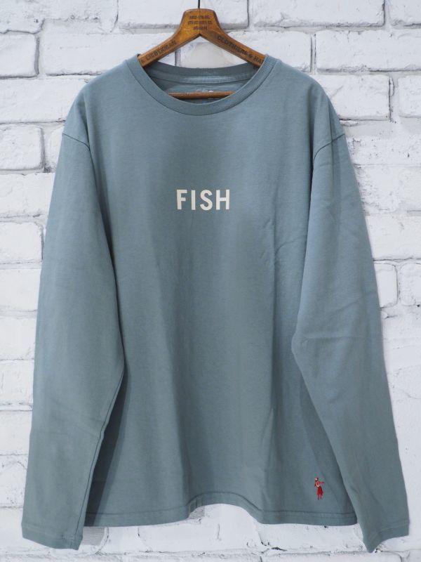 """画像1: grown in the sun  L/S Tシャツ """"FISH"""" (1)"""