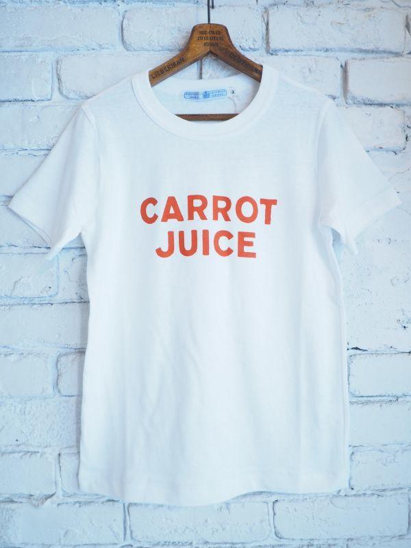 画像1: R&D.M.Co- / OLDMAN'S TAILOR CARROT JUICE Tシャツ (1)