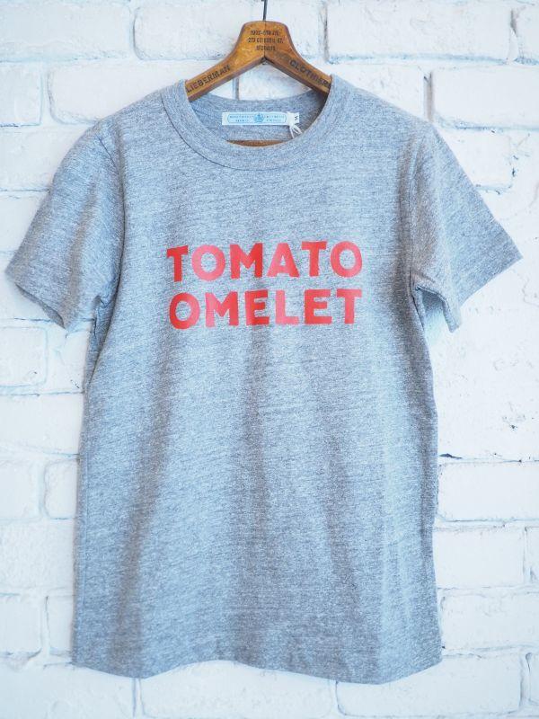 画像1: R&D.M.Co- / OLDMAN'S TAILOR TOMATO OMELET Tシャツ (1)
