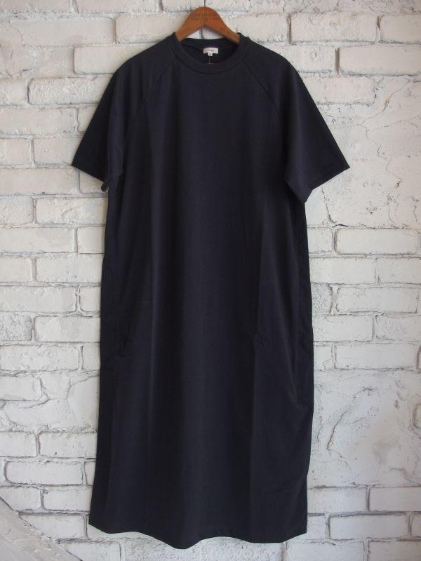 画像1: Scye (レディース)オーガニックコットン ジャージーボクシーTシャツドレス (1)