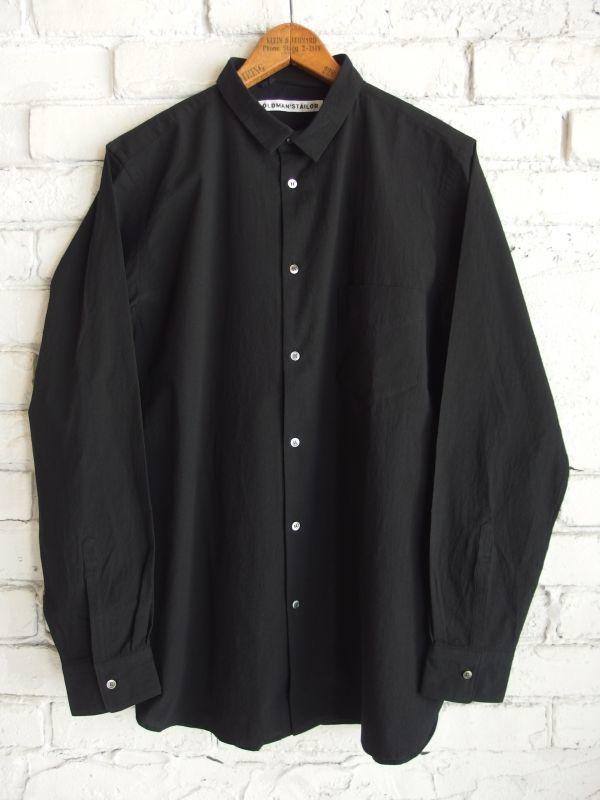 画像1: R&D.M.Co- / OLDMAN'S TAILOR 【MEN'S】 スモールカラーシャツ (1)