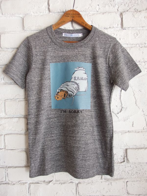 画像1: R&D.M.Co- / OLDMAN'S TAILOR I'M SORRY Tシャツ (1)