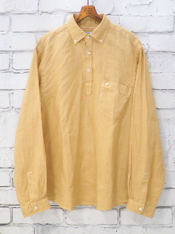画像1: SUNSHINE+CLOUD 別注リネン スリップオンシャツ (1)