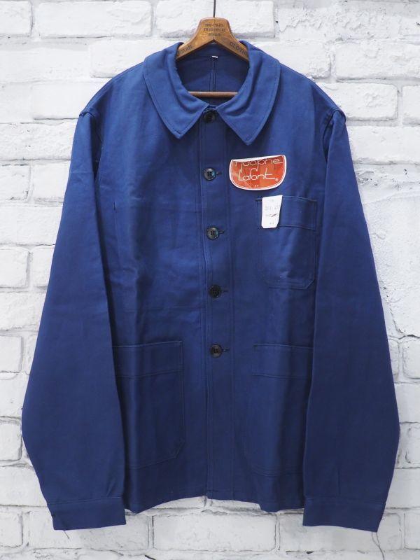 画像1: DEADSTOCK  60's FRENCH WORK JACKET デッドストック 60年代 フレンチワークジャケット (1)
