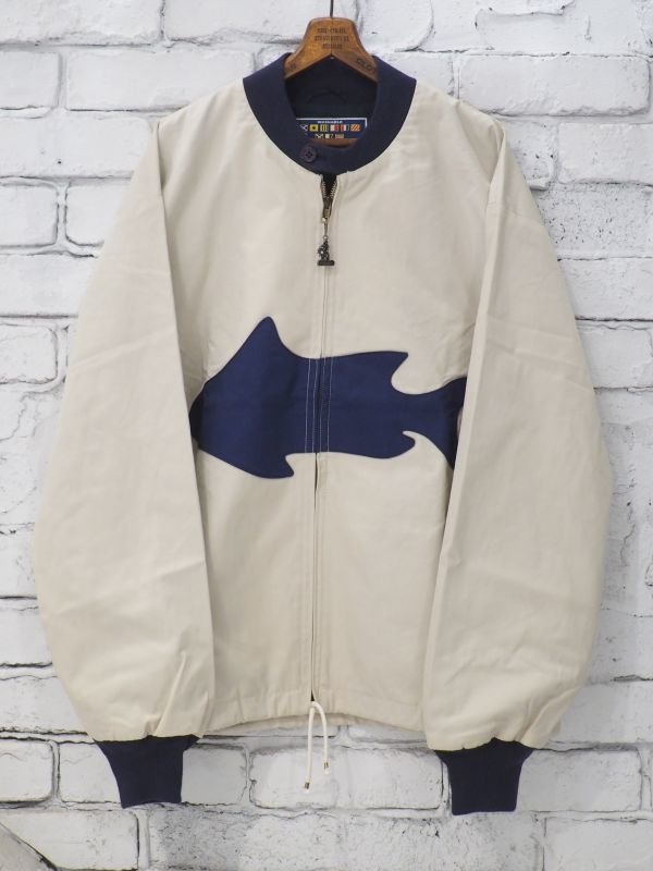 画像1: ANATOMICA MM BOAT JACKET FISH (1)