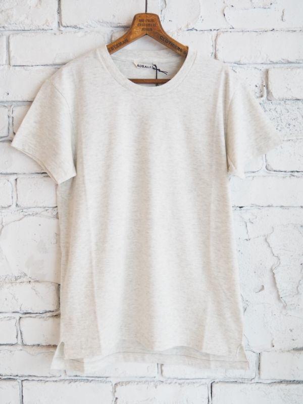 画像1: AURALEE (レディース) シームレスクルーネックTシャツ (1)