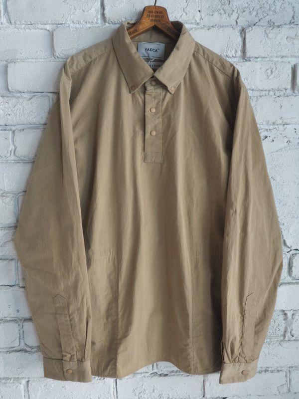 画像1: YAECA (10109) コンフォートシャツ スタンダード プルオーバー (1)