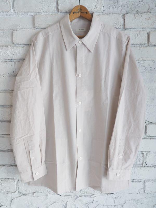画像1: THE HINOKI コットンボイルパラシュートクロスレギュラーカラーシャツ (1)