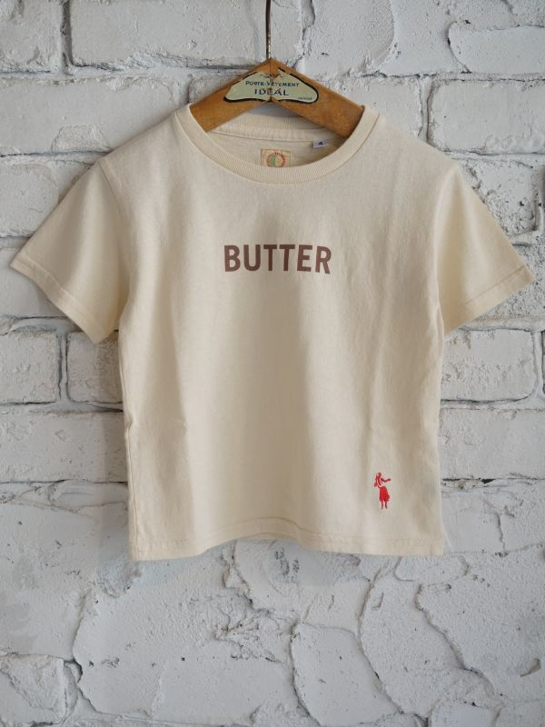画像1: grown in the sun S/S キッズTシャツ Belluria Exclusive Model BUTTER-BREAD (1)