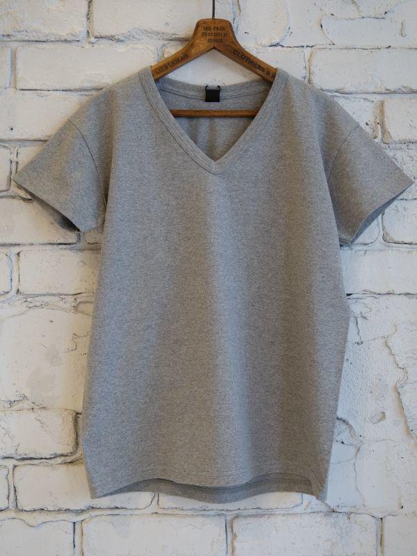 画像1: BATONER 【WOMEN'S】 パックVネックTシャツ (1)