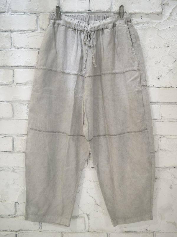 画像1: ●MITTAN PT-09B 竹パンツ(ベンガラ染め) (1)