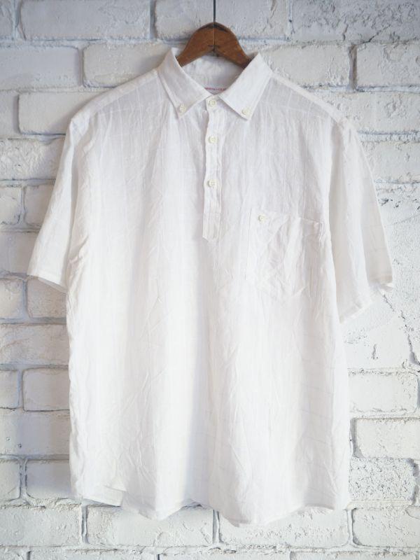 画像1: SUNSHINE+CLOUD カンクリーニ リネン スリップオンシャツ (1)