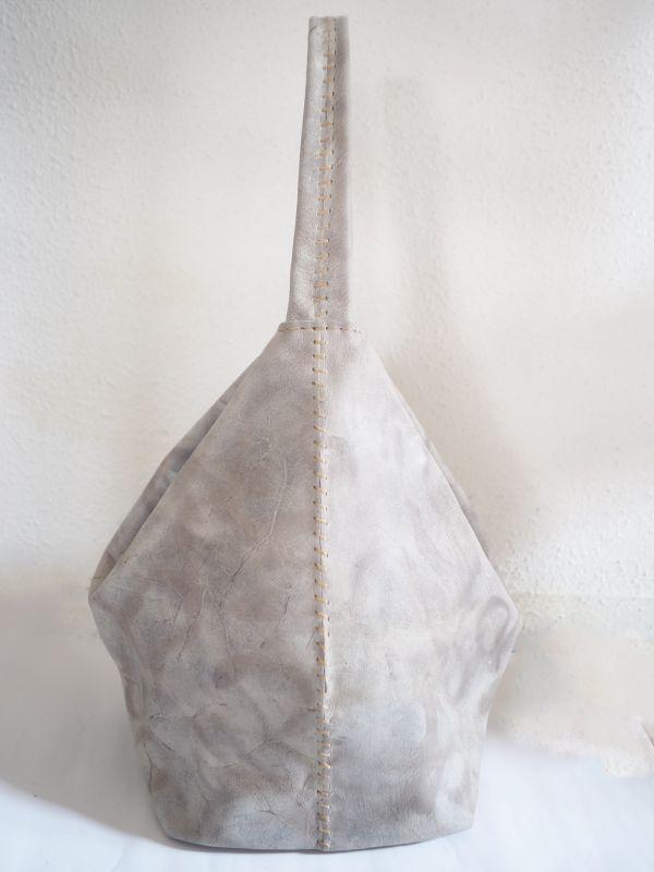 画像1: N25  ペンタゴン巾着バッグ L (1)