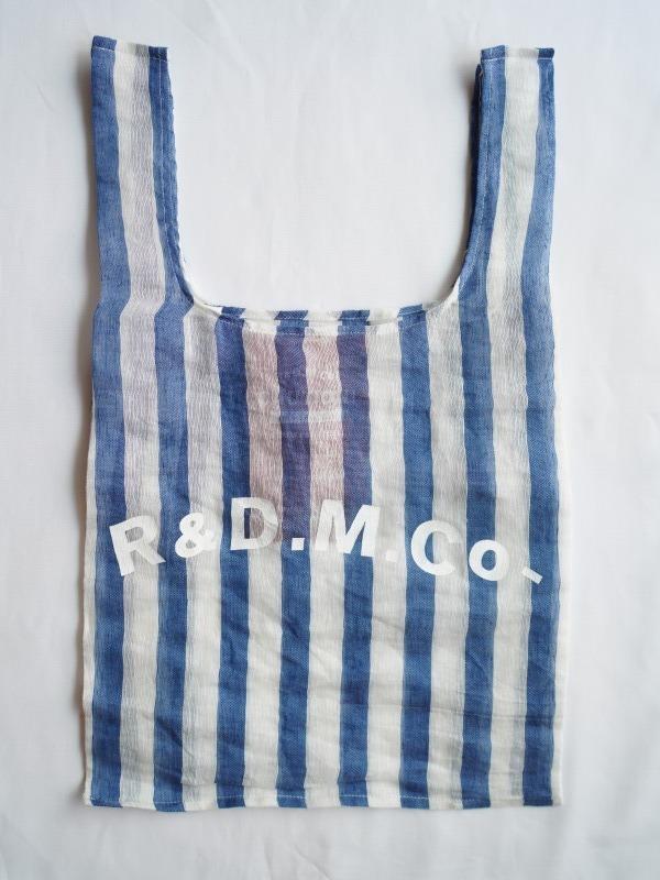 画像1: R&D.M.Co- / OLDMAN'S TAILOR オールドマンズテーラー スイールリネンスーパーマーケットバッグ (1)